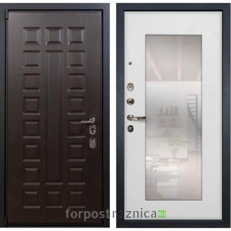 Входная дверь Лекс Неаполь MOTTURA Белый ясень №37 (с зеркалом)