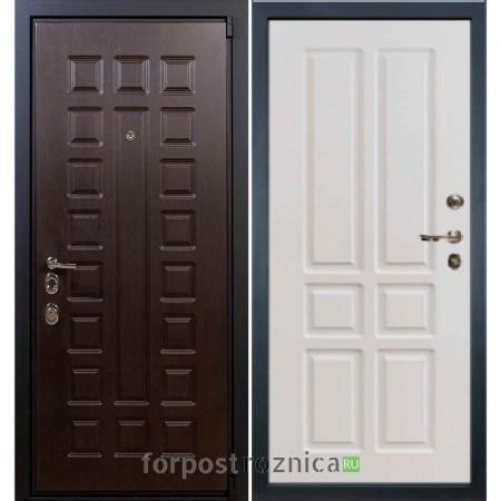 Входная дверь Лекс 4А Неаполь Mottura-Cisa Софт белый снег №87