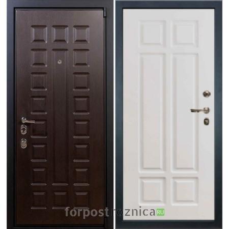 Входная дверь Лекс 4А Неаполь Mottura-Cisa Софт белый снег №89