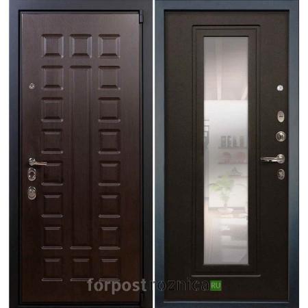 Входная дверь Лекс Неаполь Mottura-Cisa Венге №22 (с зеркалом)
