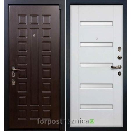 Входная дверь Лекс 4А Неаполь MOTTURA Белый ясень №34