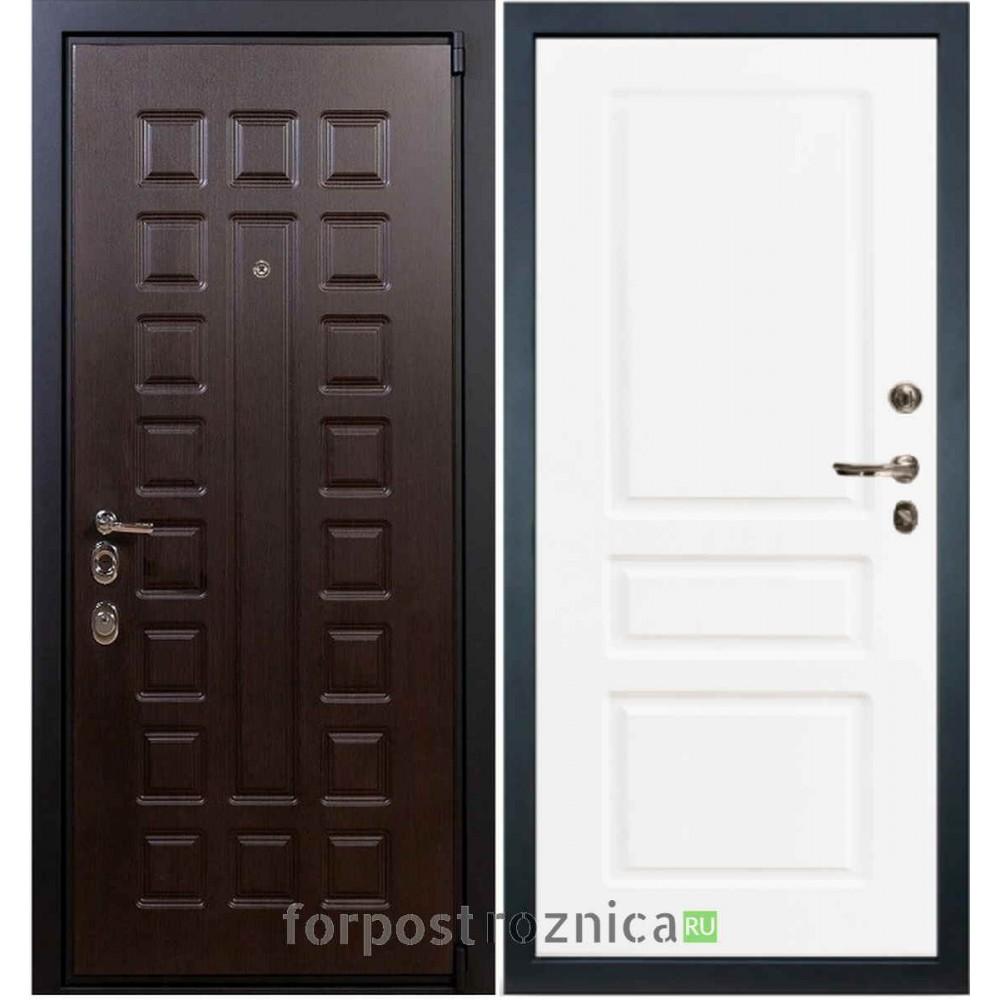 Входная дверь Лекс 4А Неаполь Mottura-Cisa Софт белый снег №94