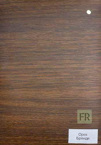 Цвет внутренней отделки двери Орех Бренди