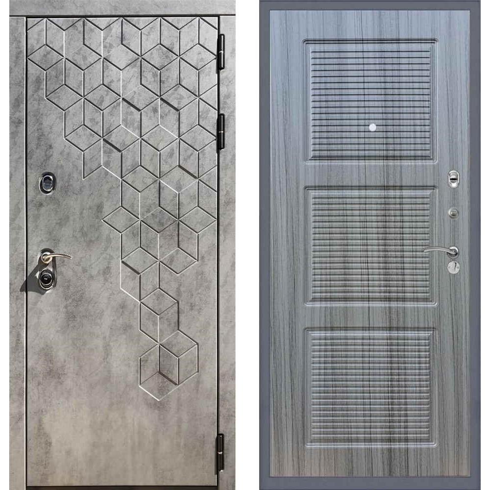 """Входная дверь REX 23 """"Пчела"""" ФЛ-1 Сандал серый"""