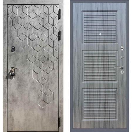 Входная дверь REX 23 Пчела ФЛ-1 Сандал серый