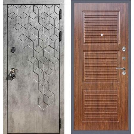 Входная дверь REX 23 Пчела ФЛ-1 мореная берёза