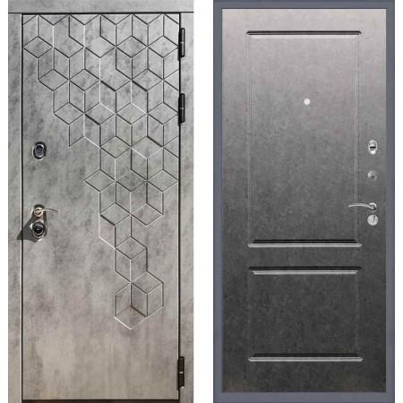Входная дверь REX 23 Пчела ФЛ-117 Штукатурка графит