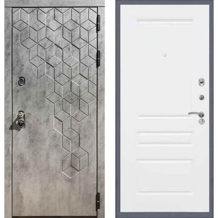 Входная дверь REX 23 Пчела ФЛ-243 Белый софт