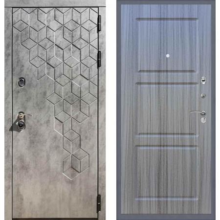 Входная дверь REX 23 Пчела ФЛ-3 Сандал серый