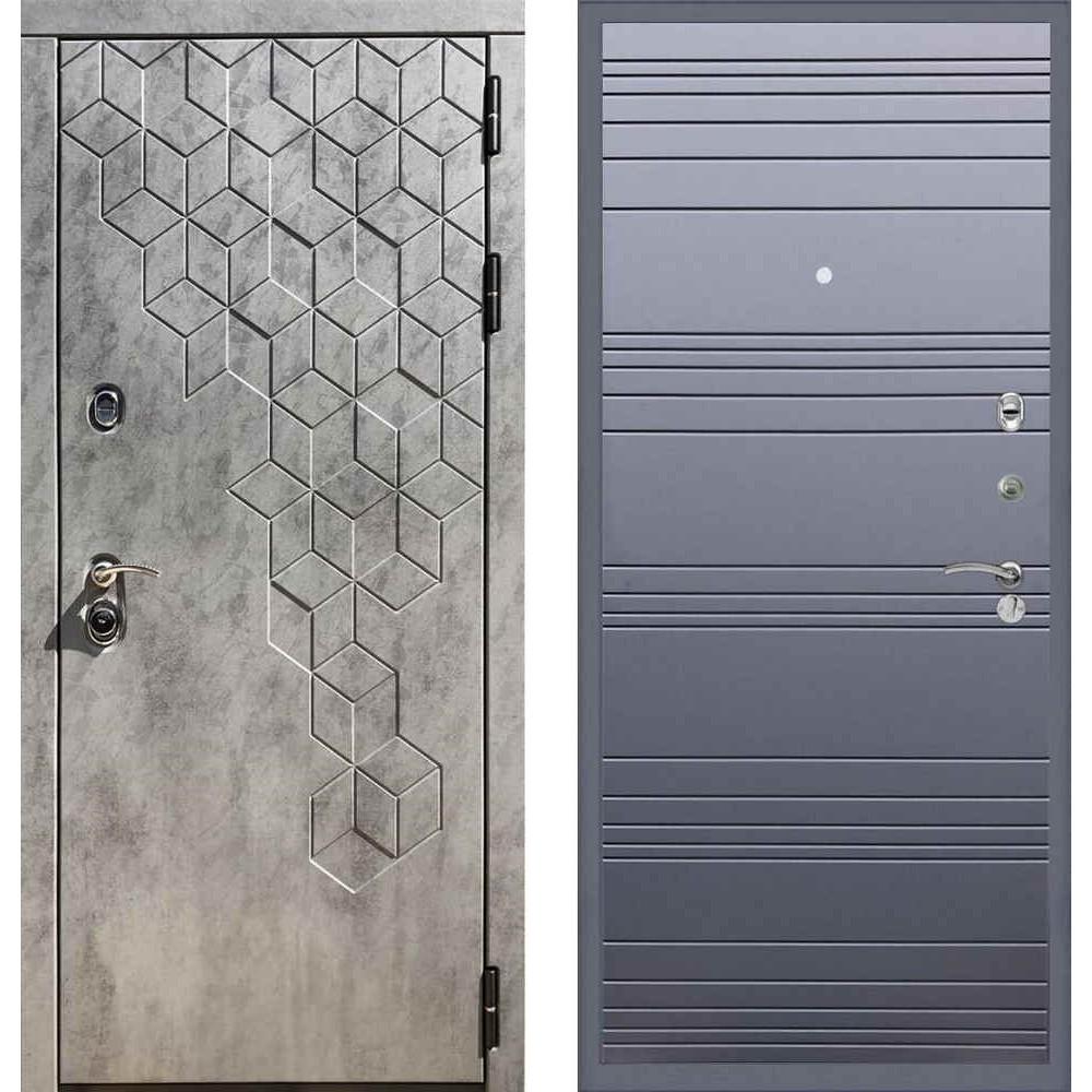Входная дверь REX 23 Пчела Line Силк титан