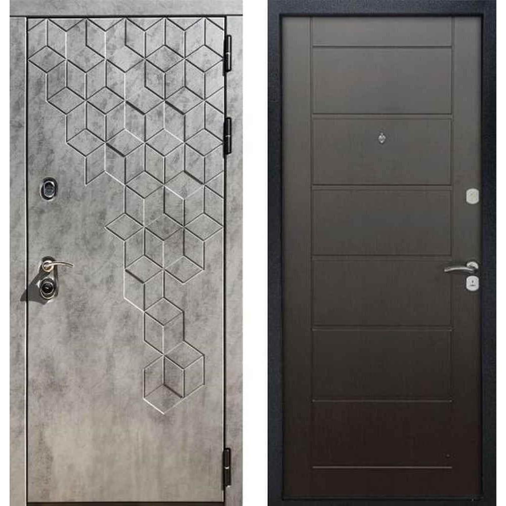 Входная дверь REX 23 Пчела панель Сити Венге