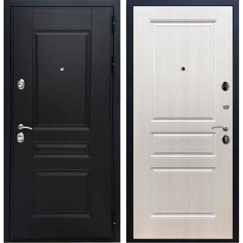 Входная дверь REX Премиум H венге ФЛ-243 лиственница беж с узором