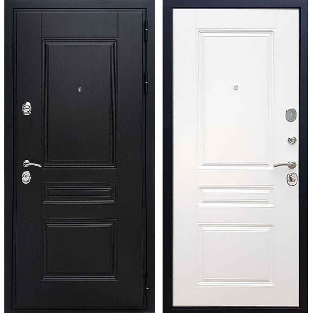 Входная дверь REX Премиум H венге ФЛ-243 белый ясень