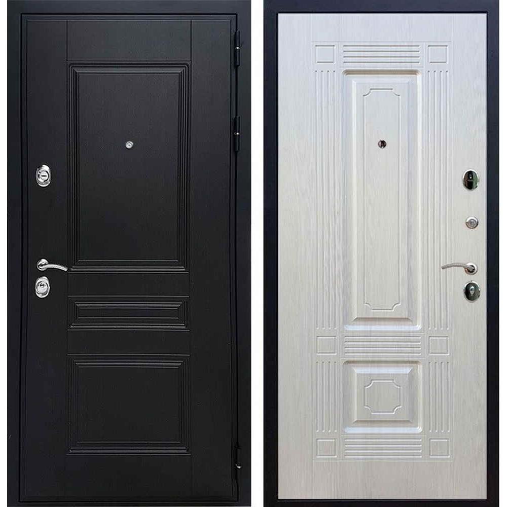 Входная дверь REX Премиум H венге «ФЛ-2» Лиственница беж