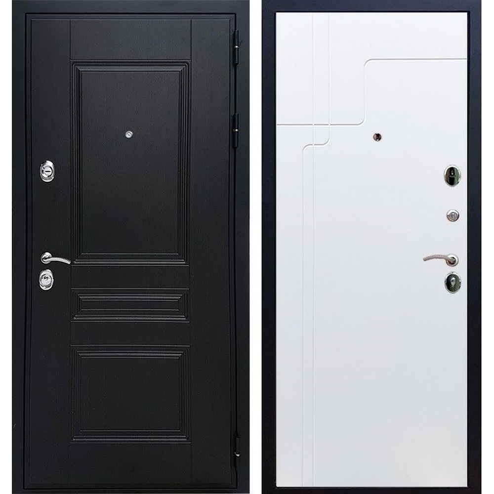Входная дверь REX Премиум H венге ФЛ-246 белый софт