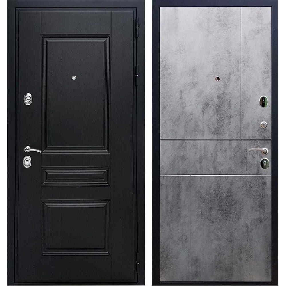 Входная дверь REX Премиум H венге ФЛ-290 бетон темный