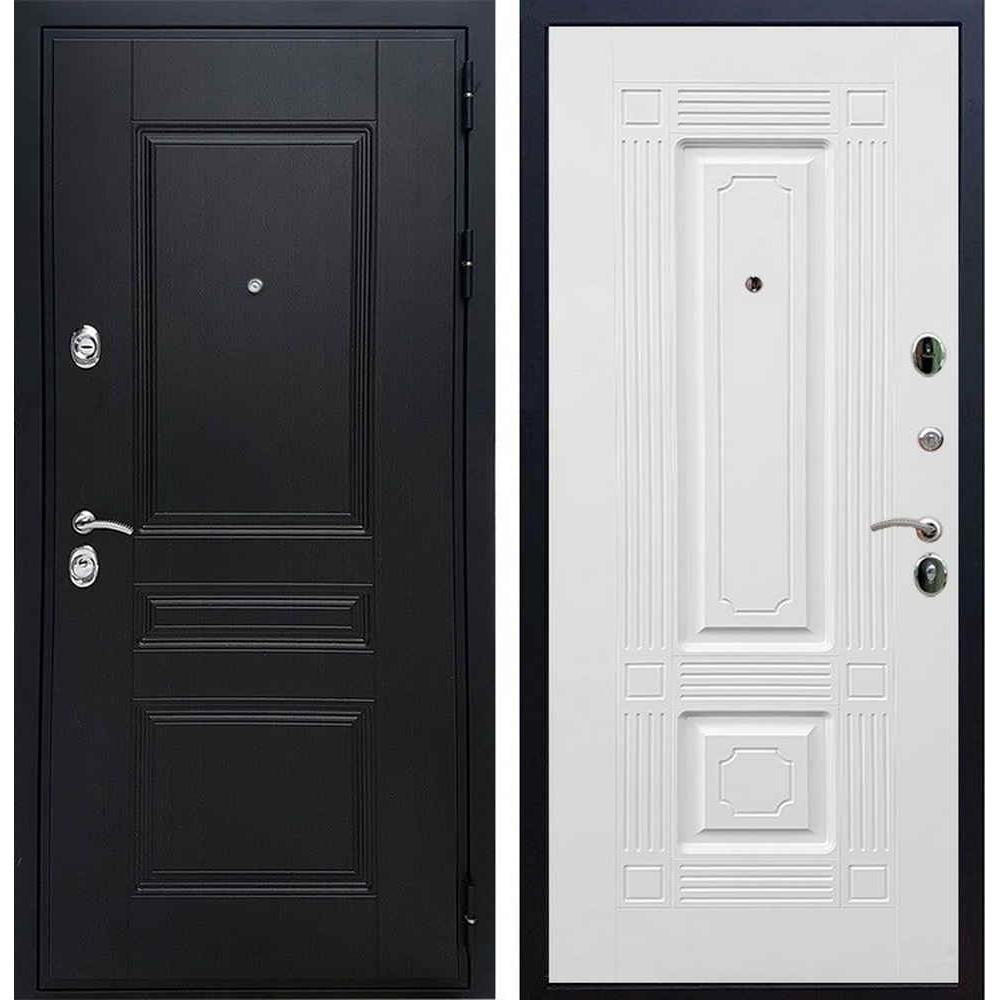 Входная дверь REX Премиум H венге «ФЛ-2» Белый софт