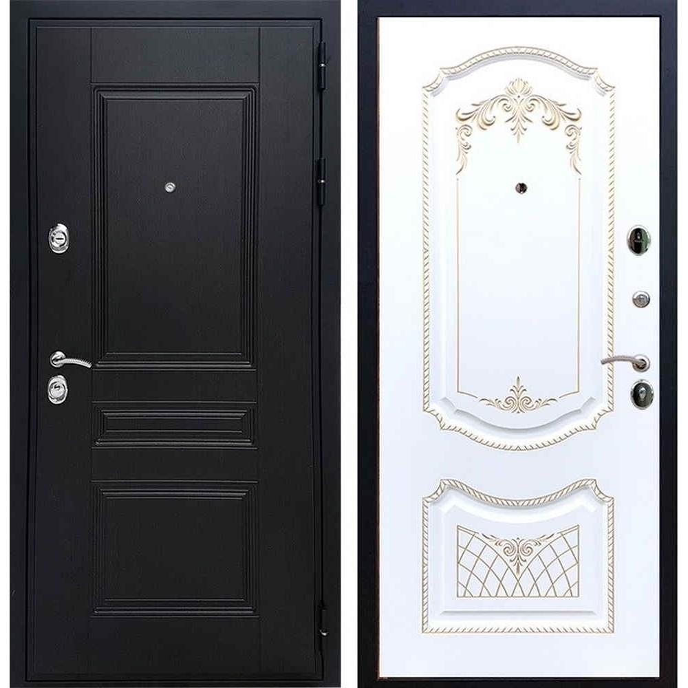 Входная дверь REX Премиум H венге ФЛ-316 патина золото