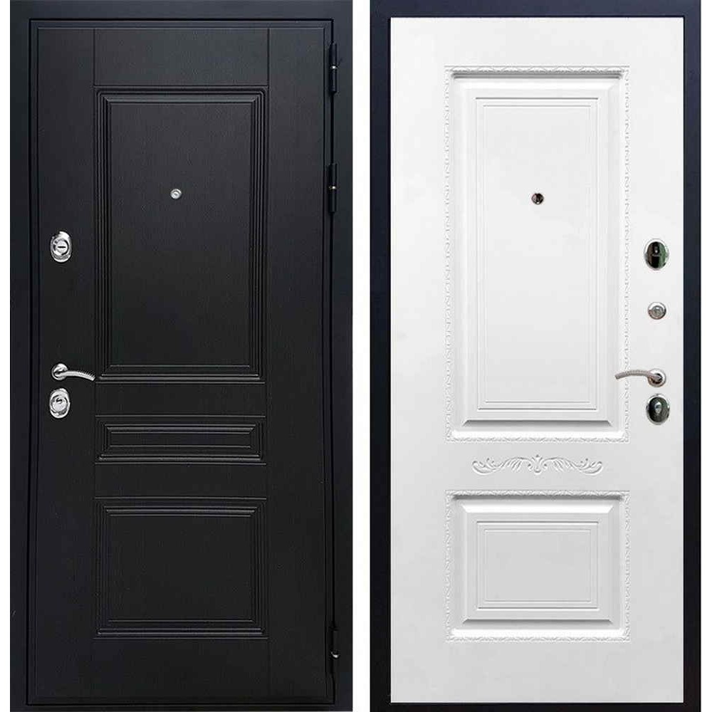 Входная дверь REX Премиум H венге смальта 04 силк сноу