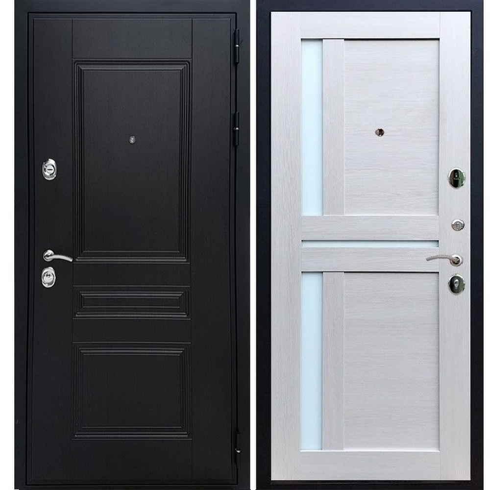 Входная дверь REX Премиум H венге сб-18 лиственница бежевая