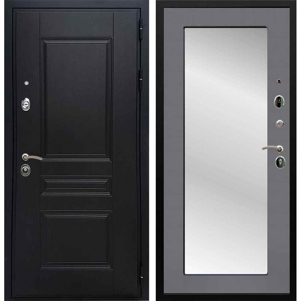 Входная дверь REX Премиум H венге пастораль графит софт