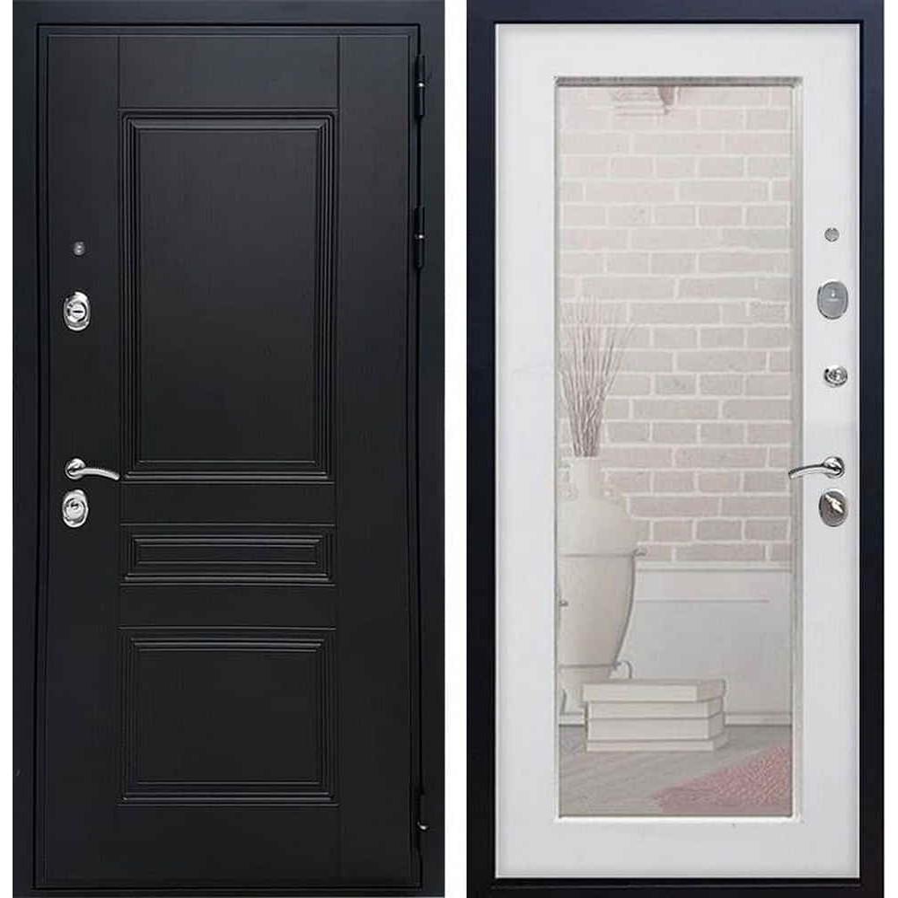 Входная дверь REX Премиум H венге пастораль белый ясень