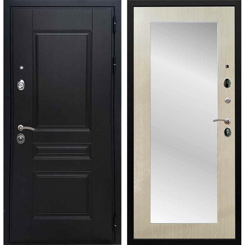 Входная дверь REX Премиум H венге пастораль беленый дуб