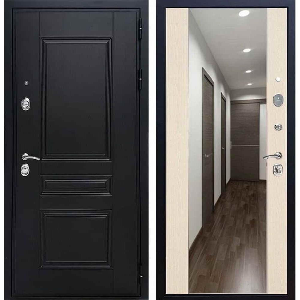 Входная дверь REX Премиум H венге сб-16 лиственница бежевая