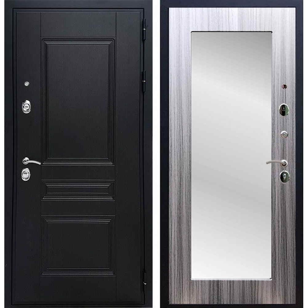 Входная дверь REX Премиум H венге пастораль сандал серый