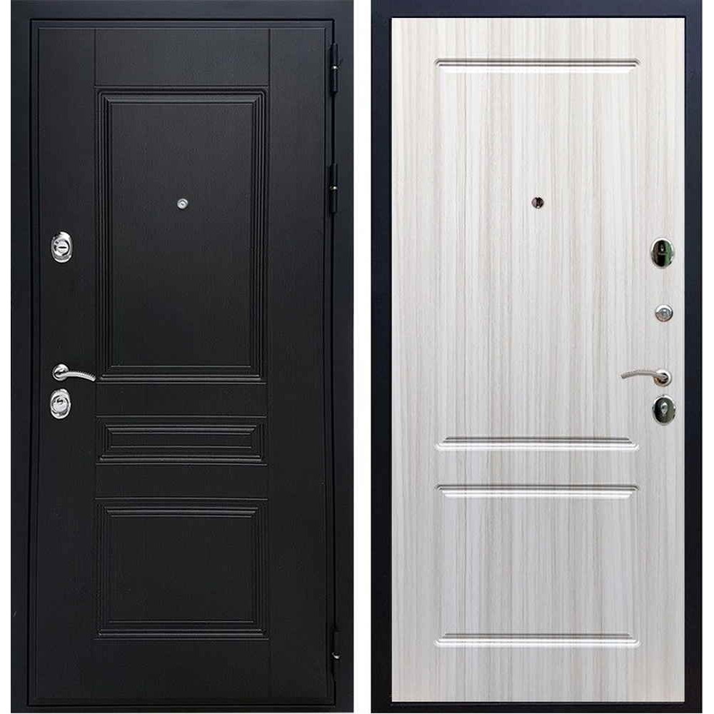 Входная дверь REX Премиум H венге ФЛ-117 сандал светлый