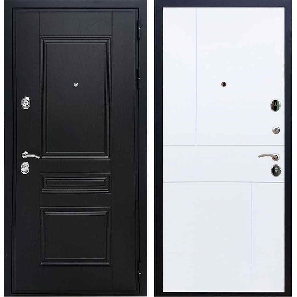 Входная дверь REX Премиум H венге ФЛ-290 белый софт