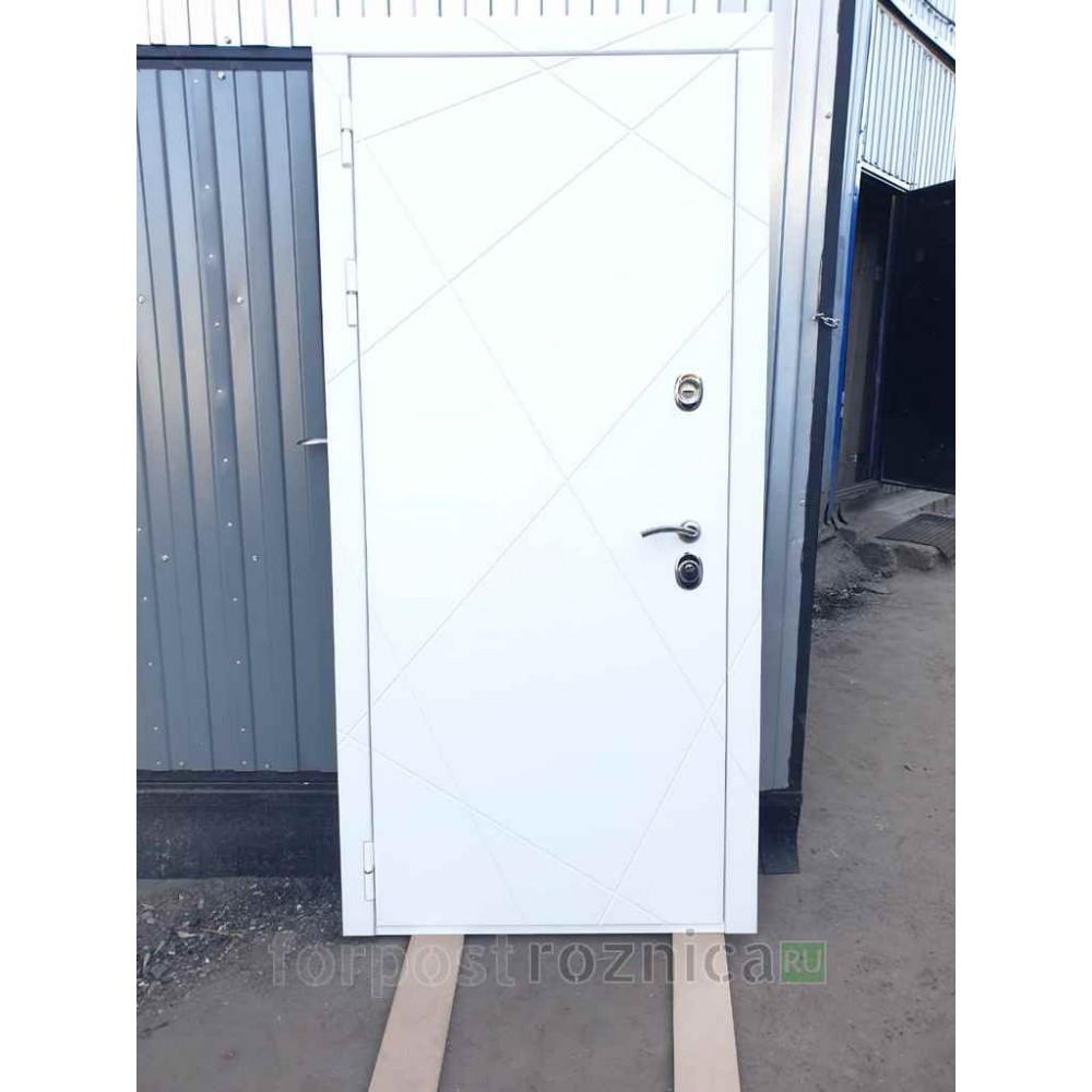 Входная дверь REX 13 ФЛ-128 Дуб светлый