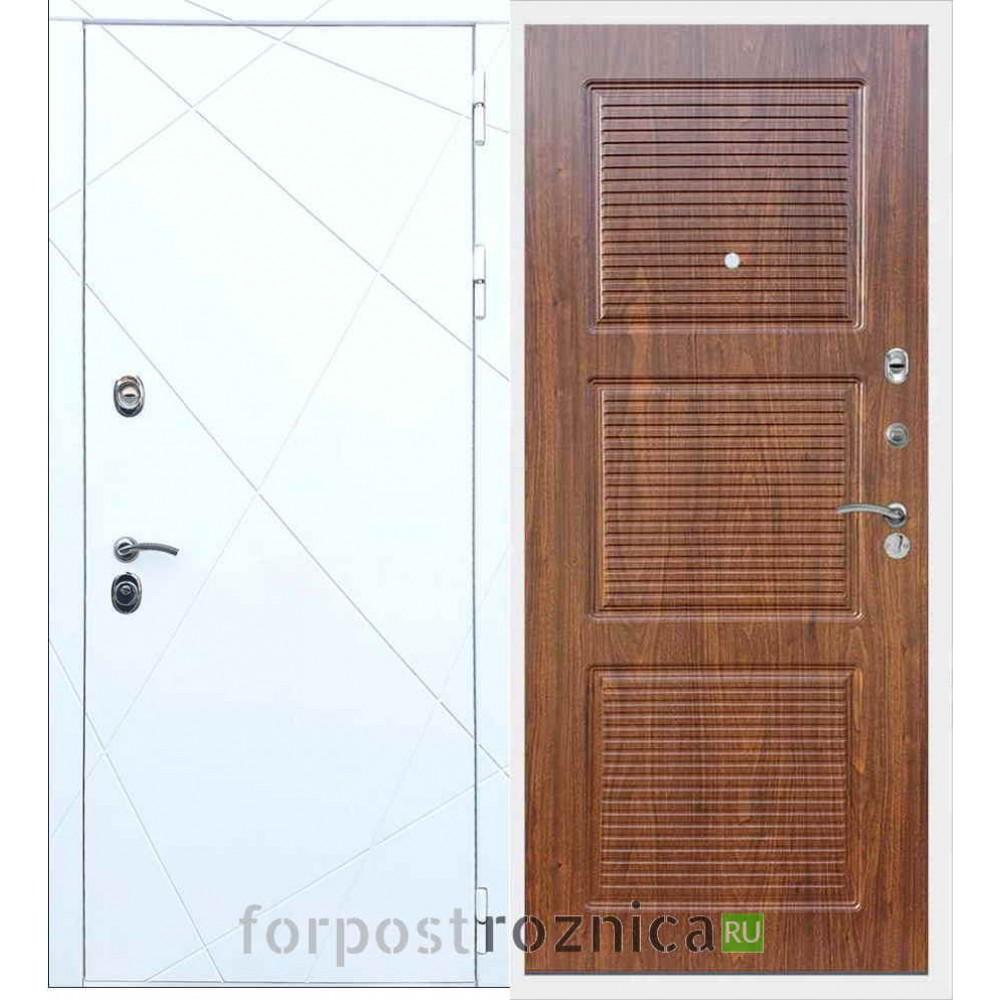 Входная дверь REX 13 ФЛ-1 Береза мореная