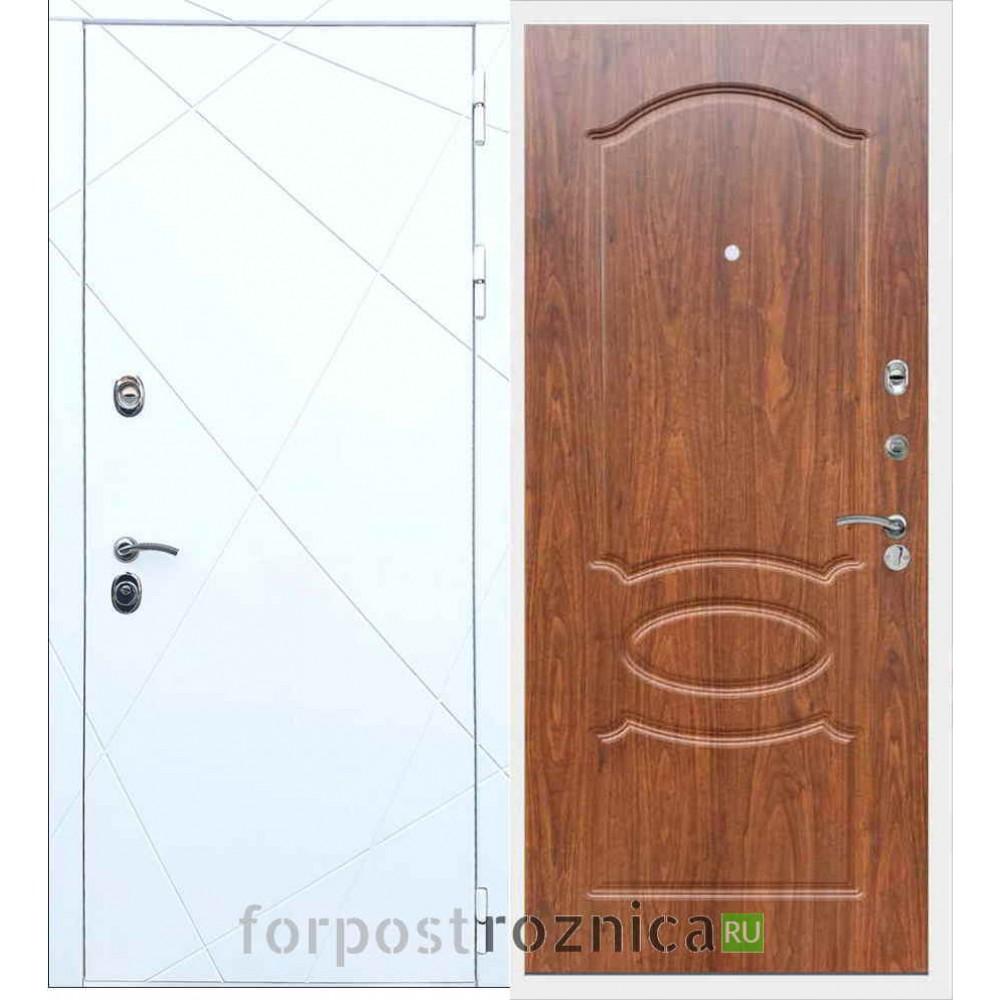 Входная дверь REX 13 ФЛ-128 Береза мореная