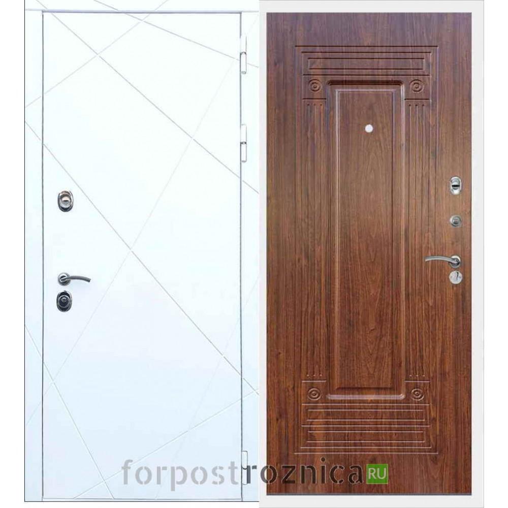 Входная дверь REX 13 ФЛ-4 Береза мореная