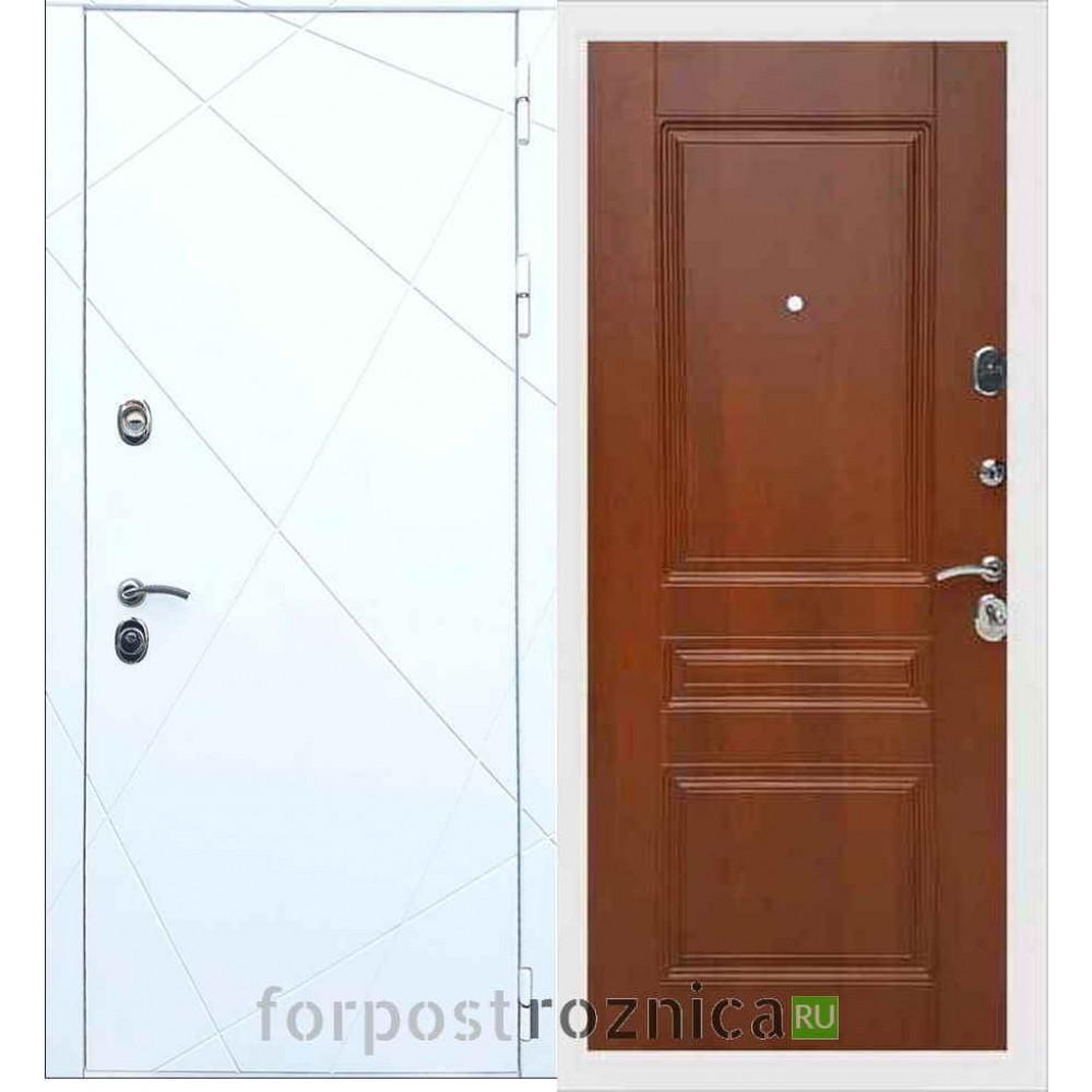 Входная дверь REX 13 ФЛ-243 Орех итальянский