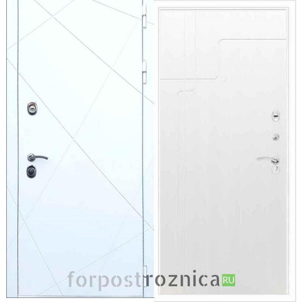 Входная дверь REX 13 ФЛ-246 Лиственница бежевая