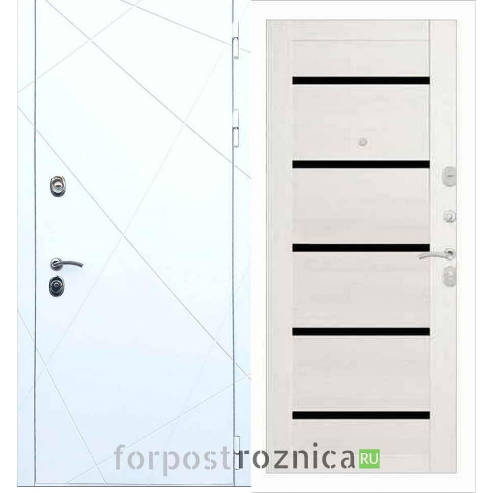 Входная дверь REX 13 СБ-14 Лиственница бежевая