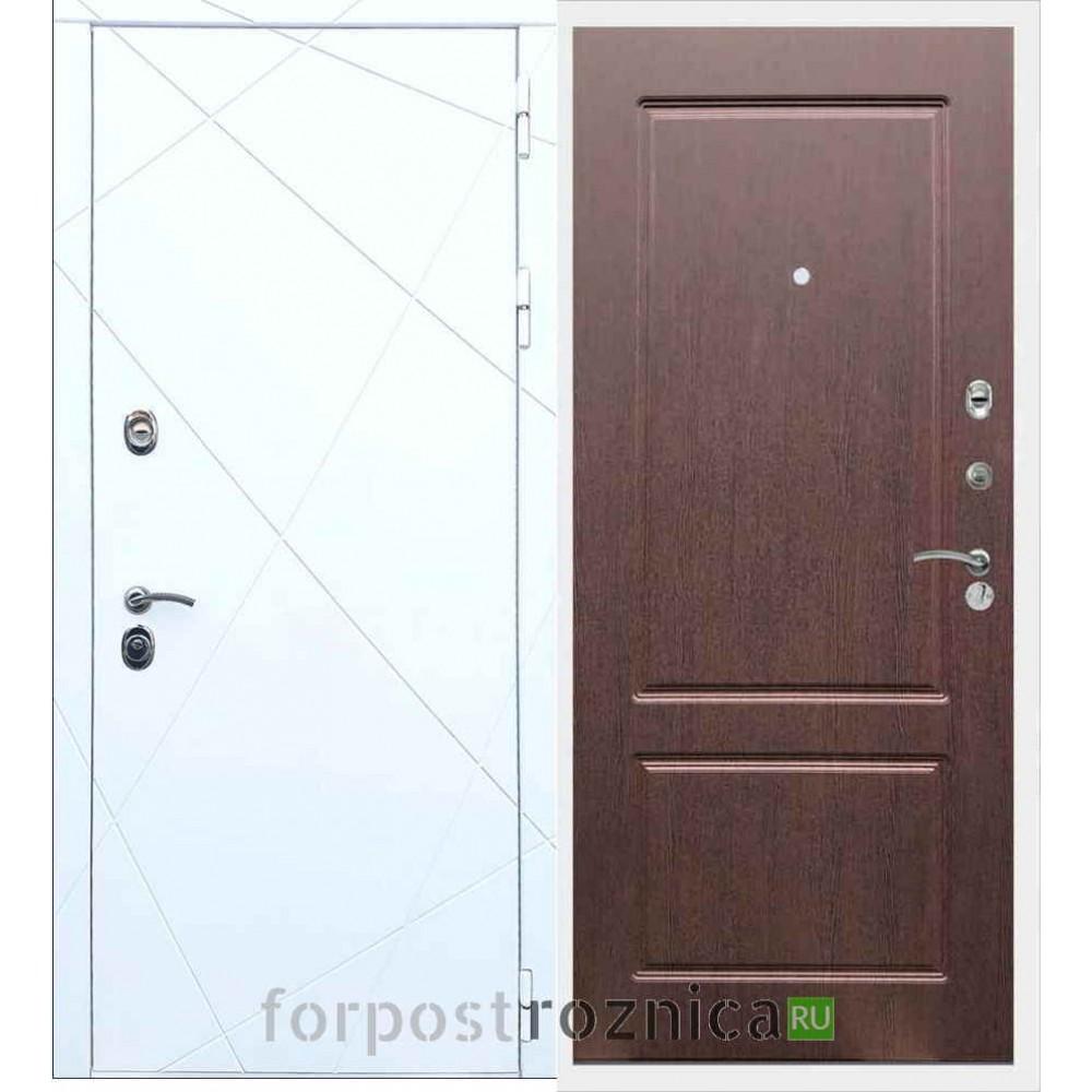 Входная дверь REX 13 ФЛ-117 Орех премиум