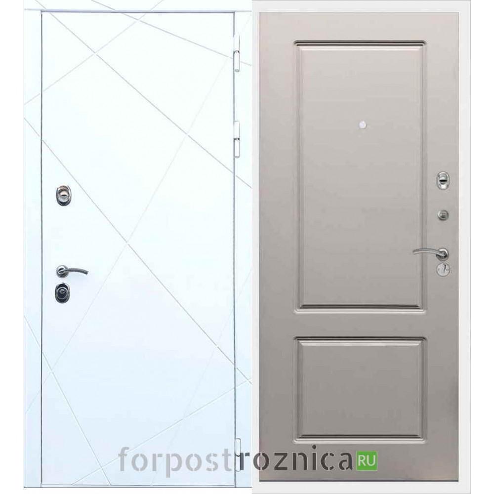 Входная дверь REX 13 ФЛ-117 Шампань Soft-touch
