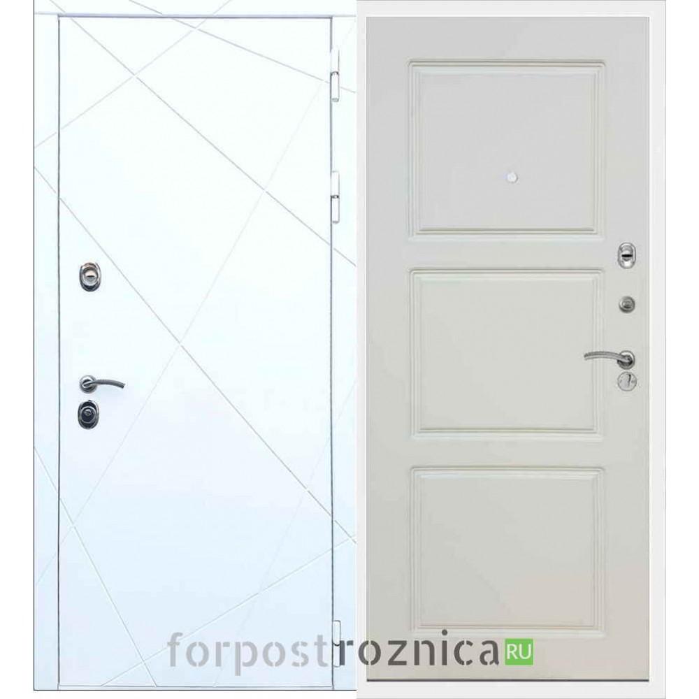 Входная дверь REX 13 ФЛ-3 Шампань Soft-touch