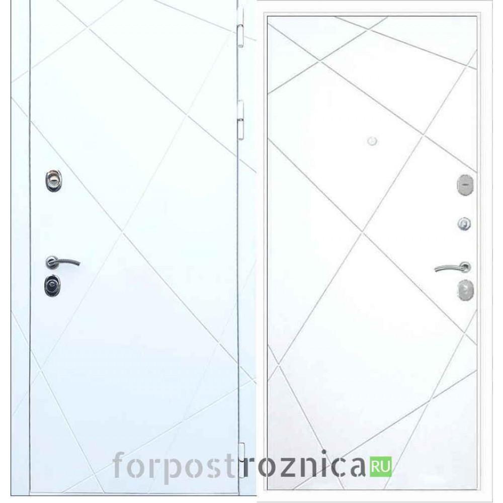 Входная дверь REX 13 ФЛ-291 Силк сноу