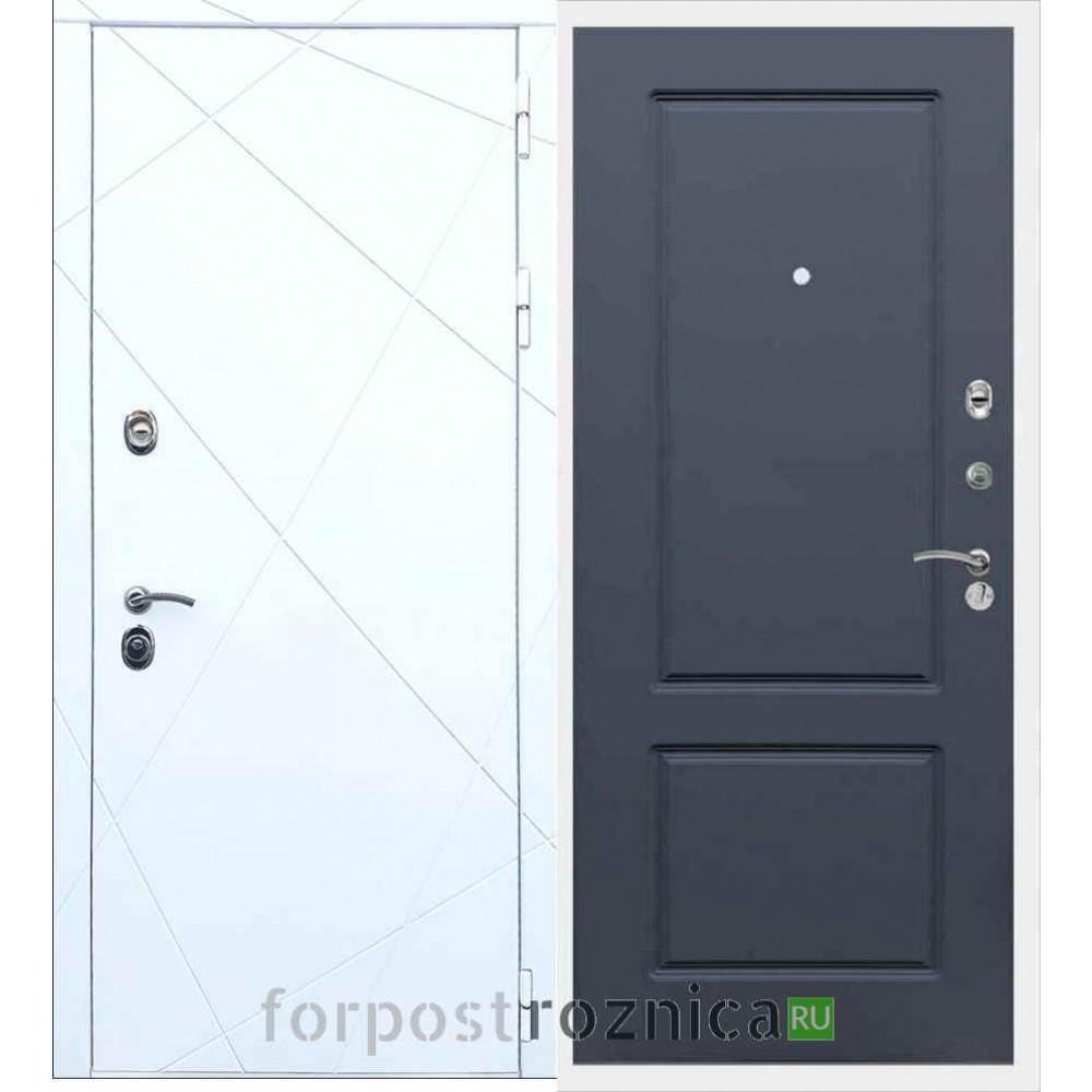 Входная дверь REX 13 ФЛ-117 Силк титан