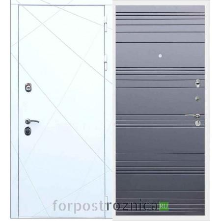Входная дверь REX 13 Line Силк титан
