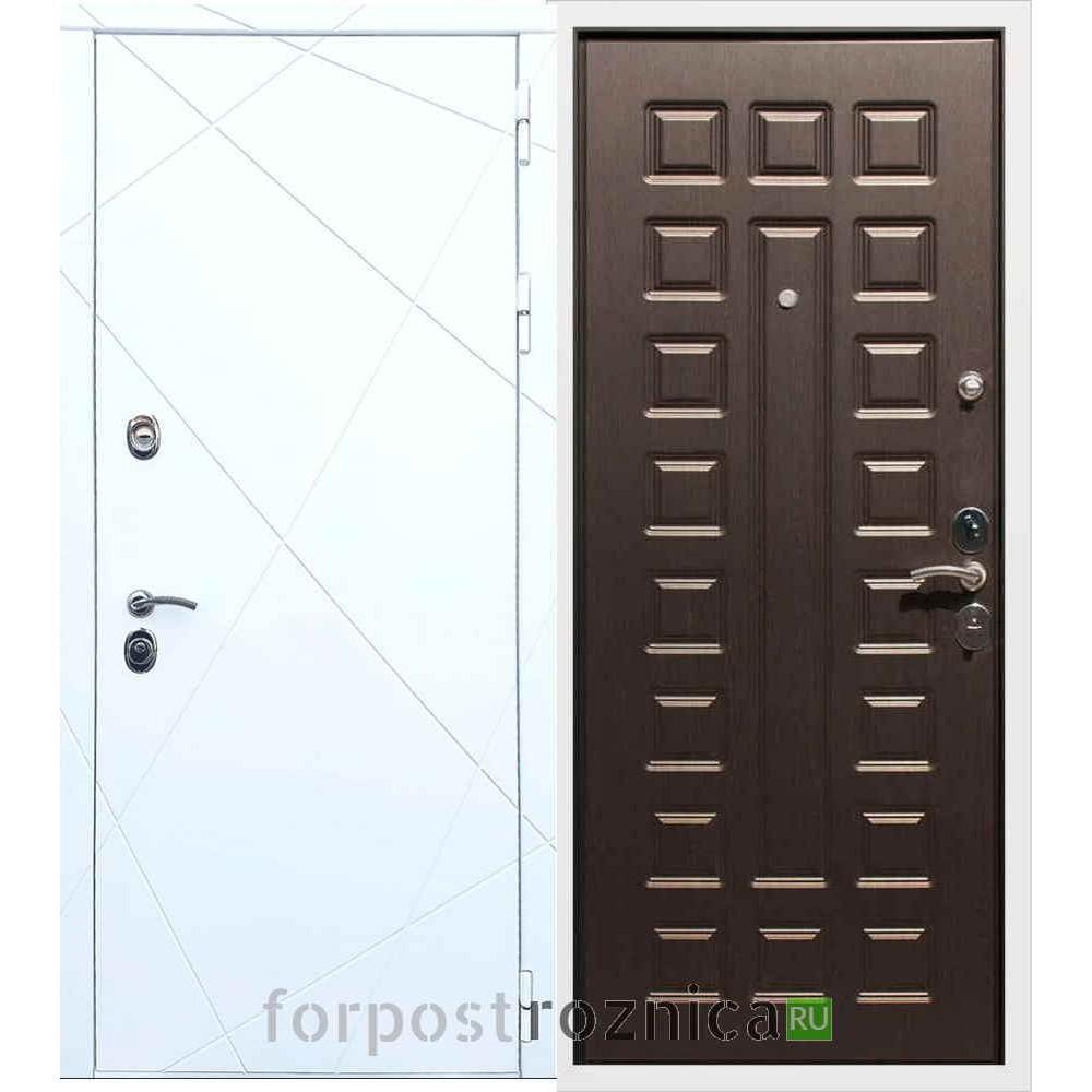 Входная дверь REX 13 ФЛ-183 Венге