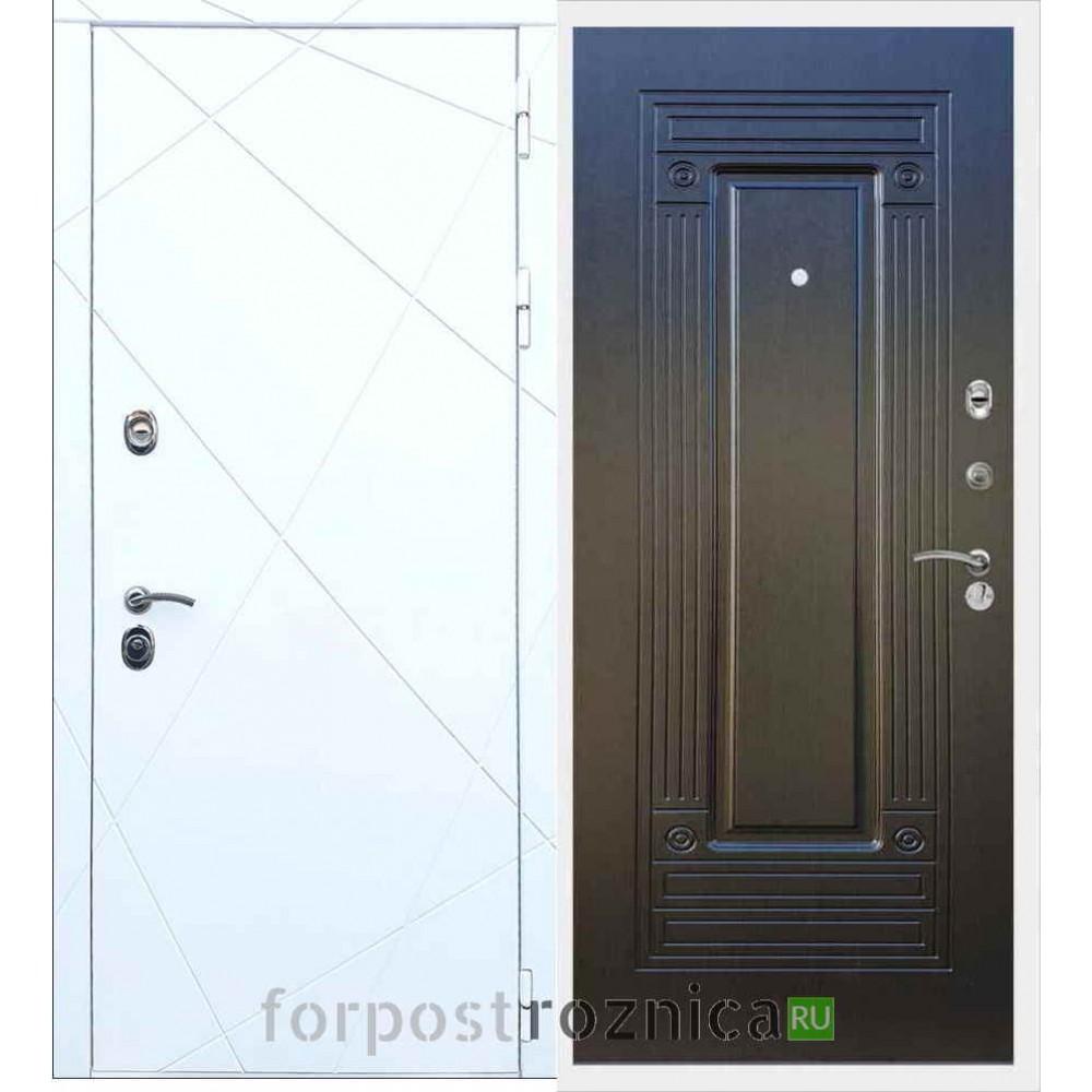 Входная дверь REX 13 ФЛ-4 Венге
