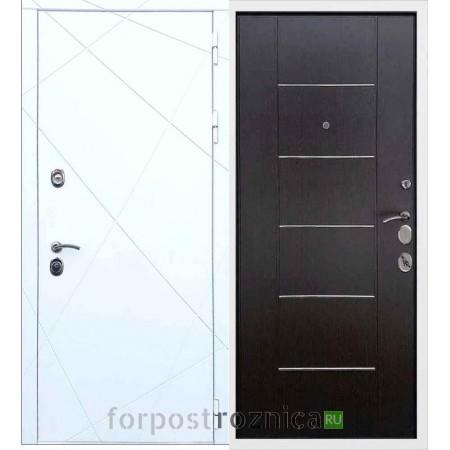 Входная дверь REX 13 B-03 Молдинг Венге