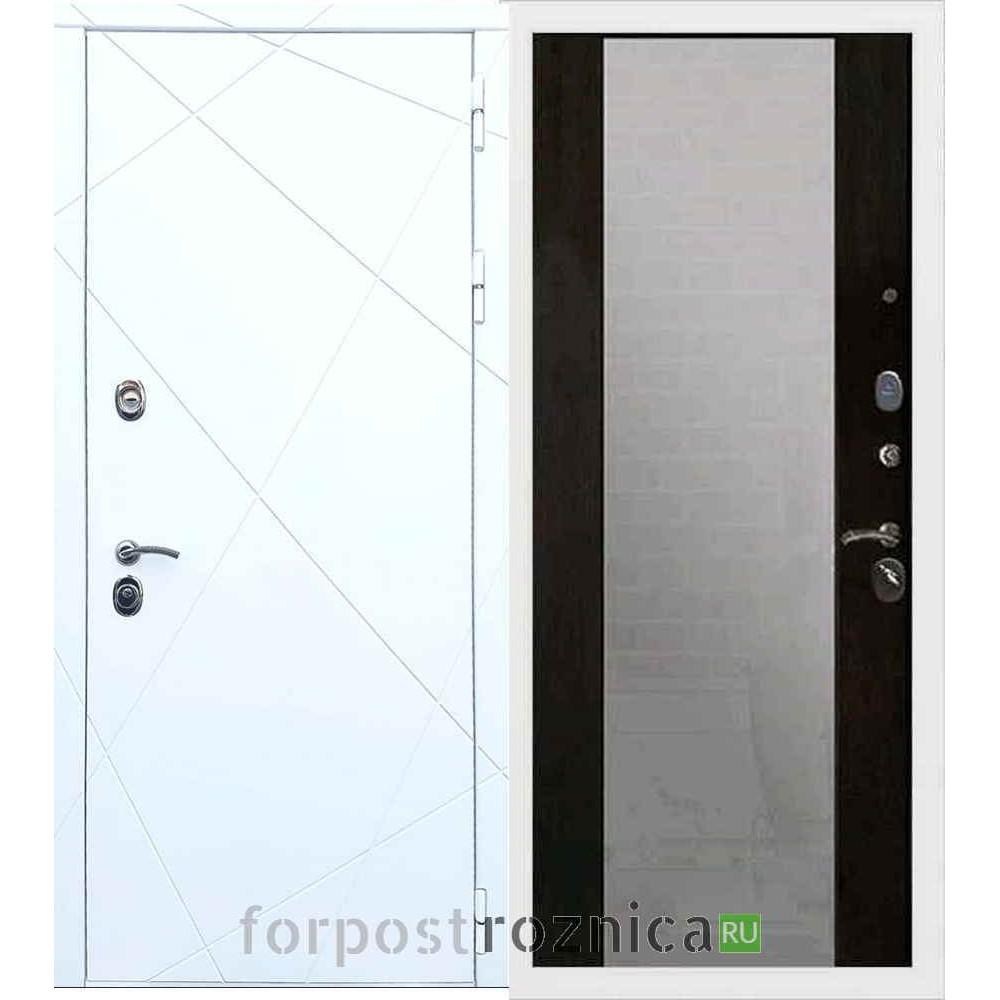 Входная дверь REX 13 СБ-16 с зеркалом Венге