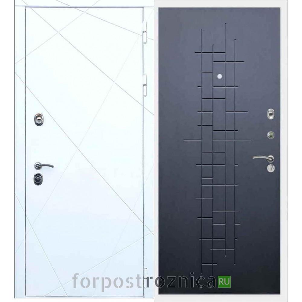 Входная дверь REX 13 ФЛ-289 Ясень черный