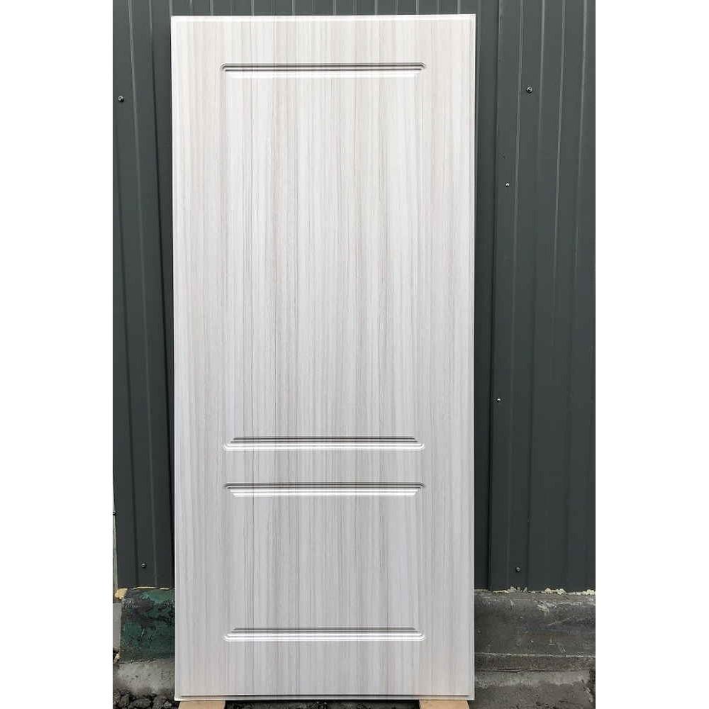Входная дверь REX 23 Пчела ФЛ-117  Сандал белый